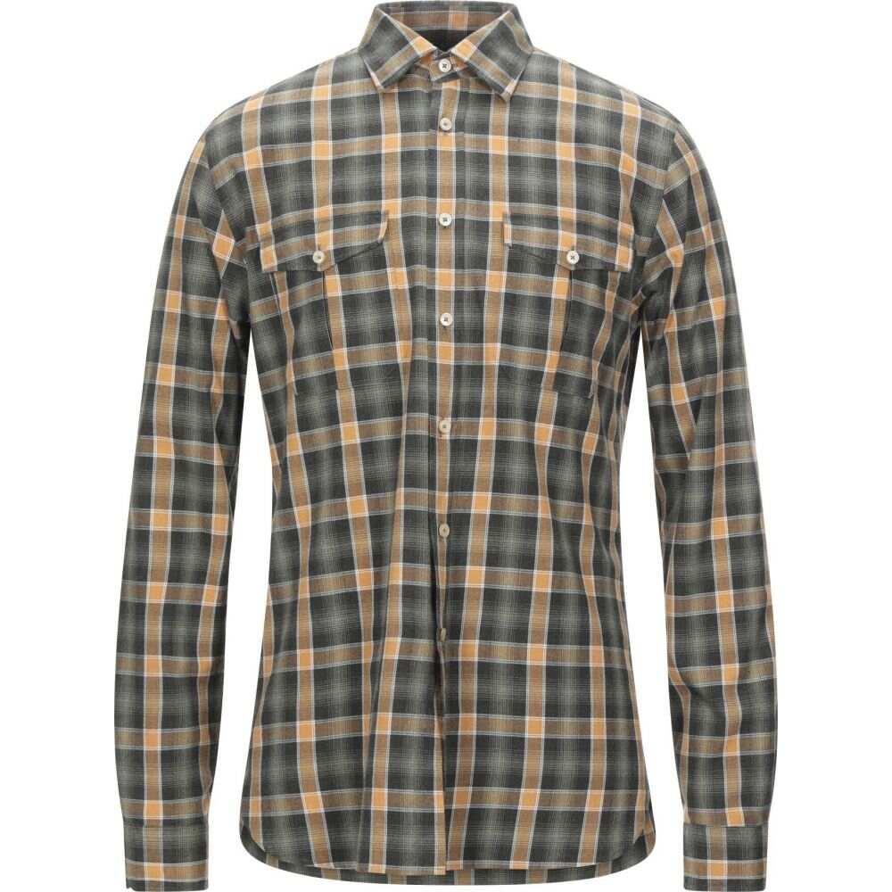 ザカス XACUS メンズ シャツ トップス【checked shirt】Green