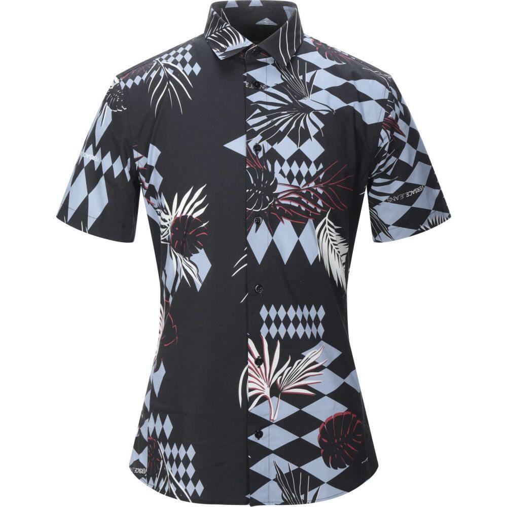 ヴェルサーチ VERSACE JEANS メンズ シャツ トップス【patterned shirt】Black