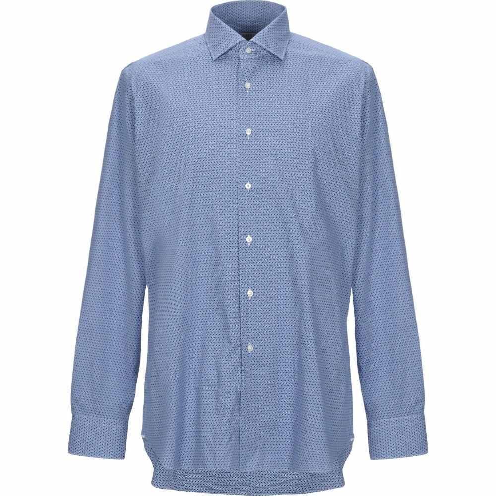 ザカス XACUS メンズ シャツ トップス【patterned shirt】Azure