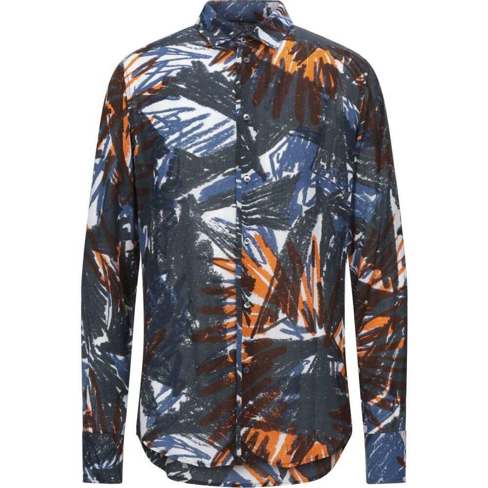 トム レベル TOM REBL メンズ シャツ トップス【patterned shirt】Blue