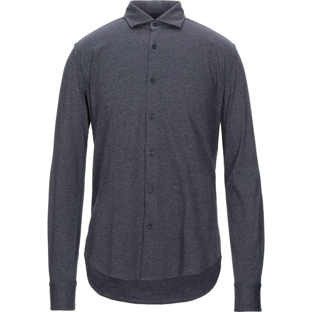 ザカス XACUS メンズ シャツ トップス【patterned shirt】Dark blue