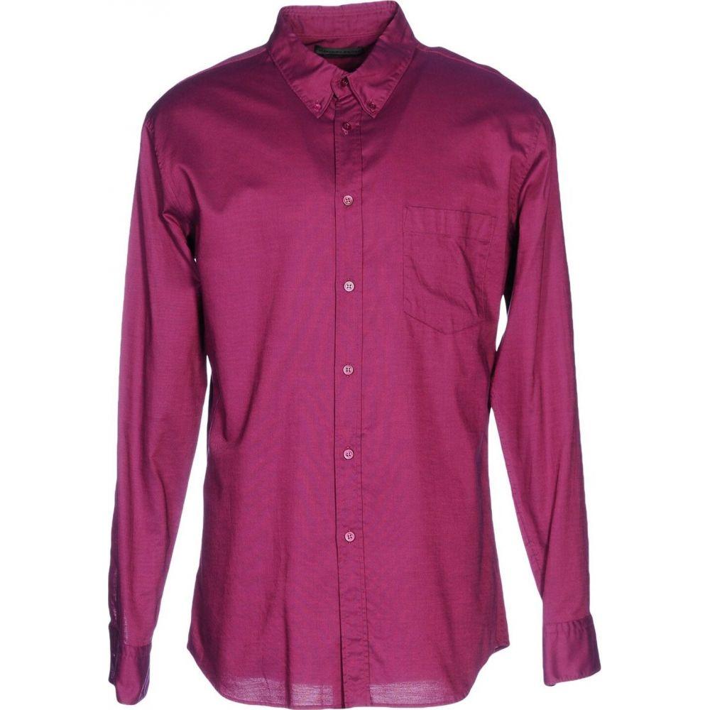 アレキサンダー マックイーン ALEXANDER MCQUEEN メンズ シャツ トップス【solid color shirt】Fuchsia