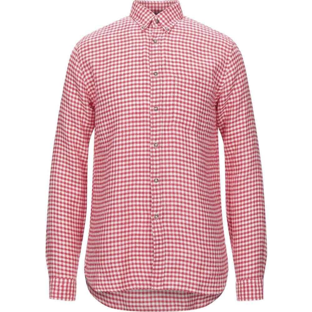 ザカス XACUS メンズ シャツ トップス【checked shirt】Red