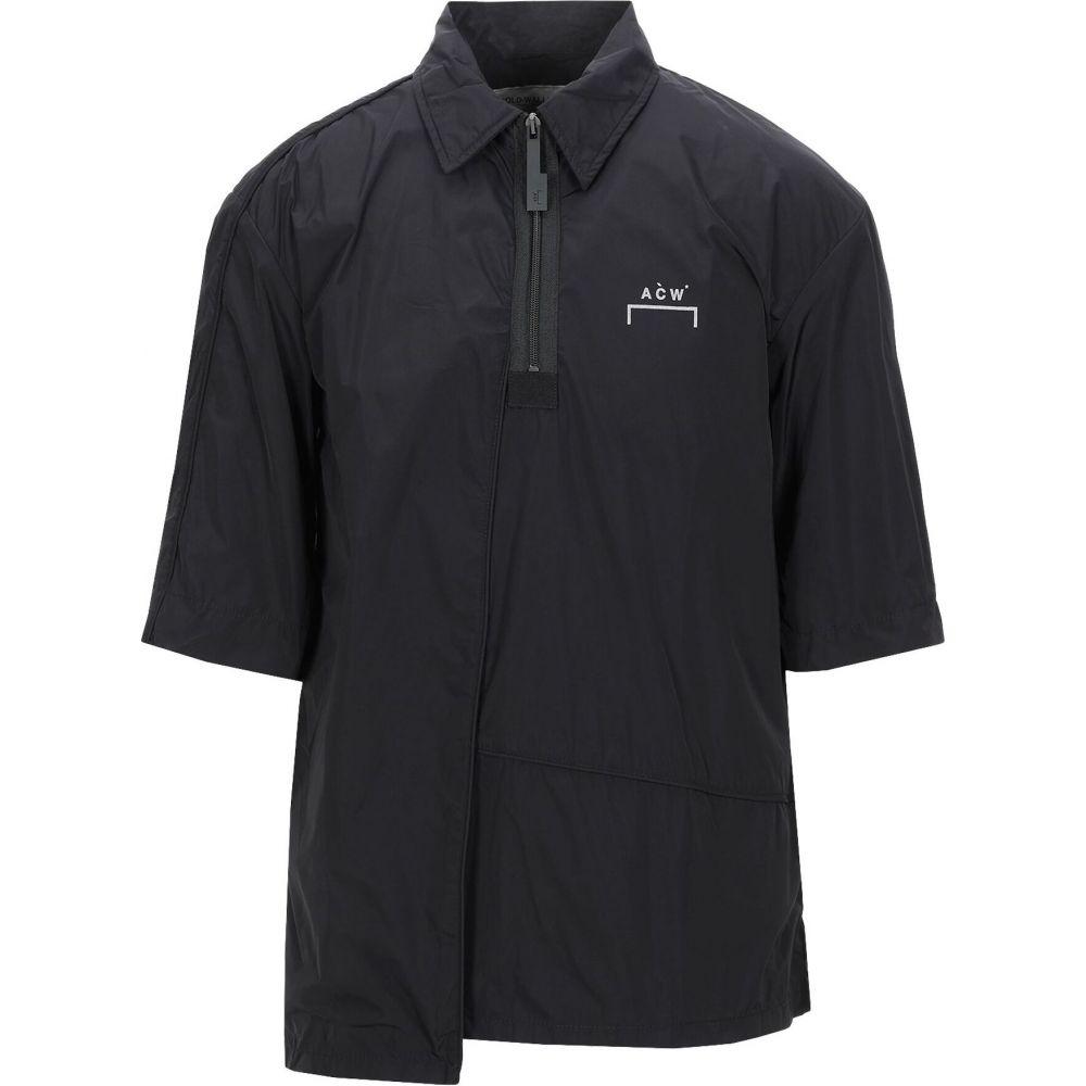 アコールドウォール A-COLD-WALL* メンズ シャツ トップス【solid color shirt】Black