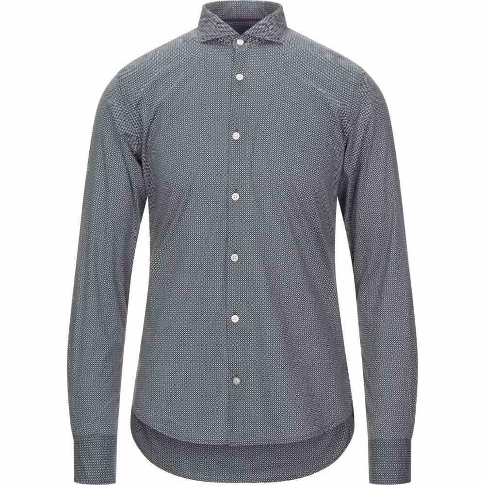 イエスズィー バイ エッセンツァ YES ZEE by ESSENZA メンズ シャツ トップス【patterned shirt】Black