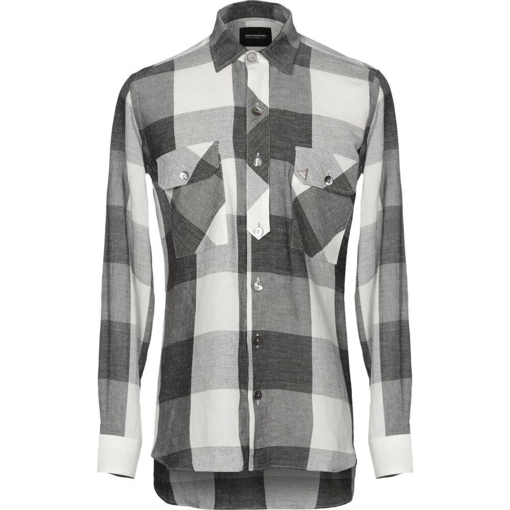 タケシ クロサワ TAKESHY KUROSAWA メンズ シャツ トップス【checked shirt】Steel grey
