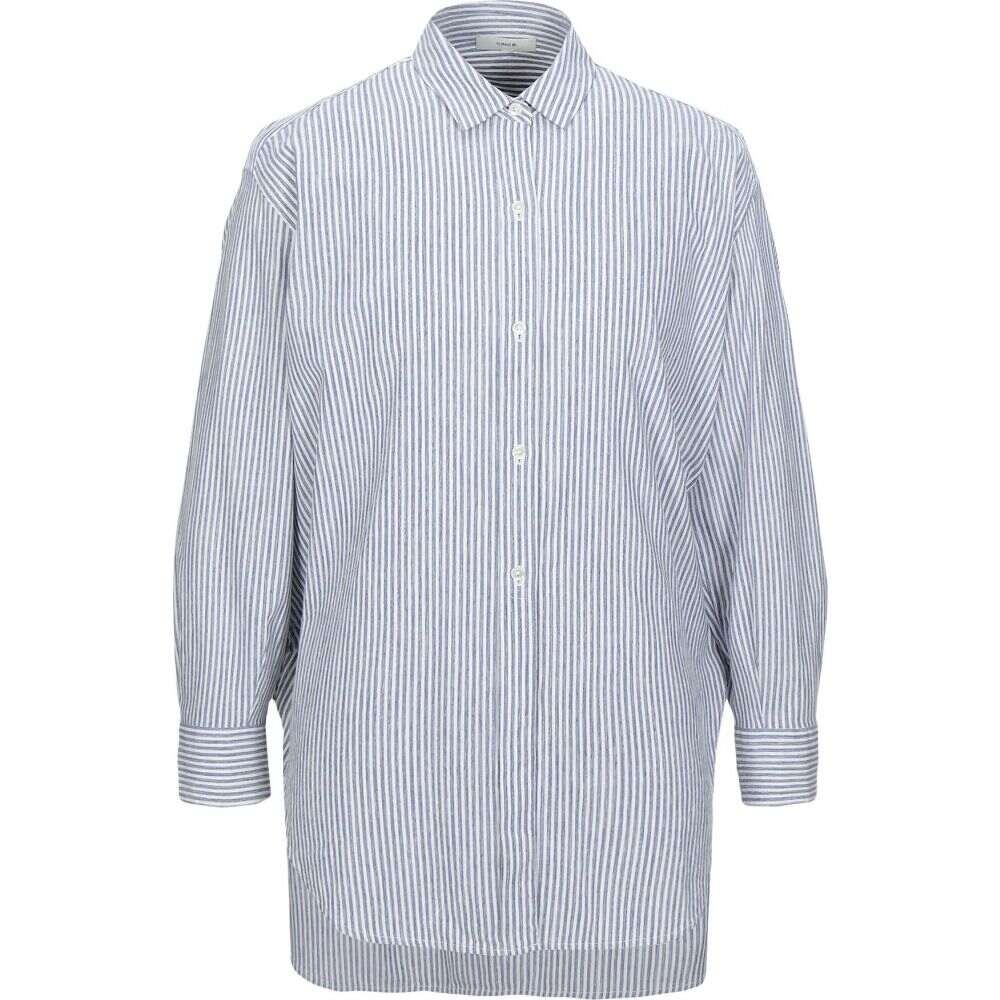 ヴィンス VINCE. メンズ シャツ トップス【striped shirt】Slate blue