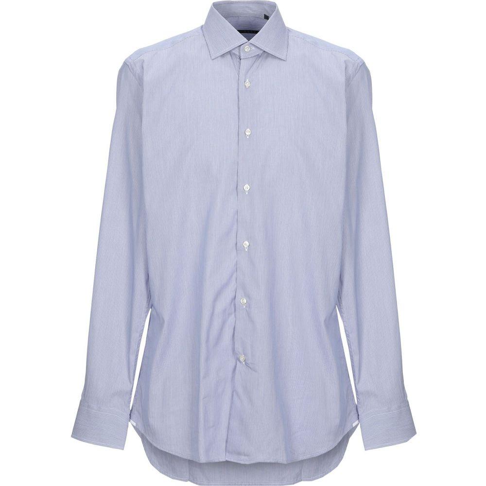 ザカス XACUS メンズ シャツ トップス【striped shirt】Blue