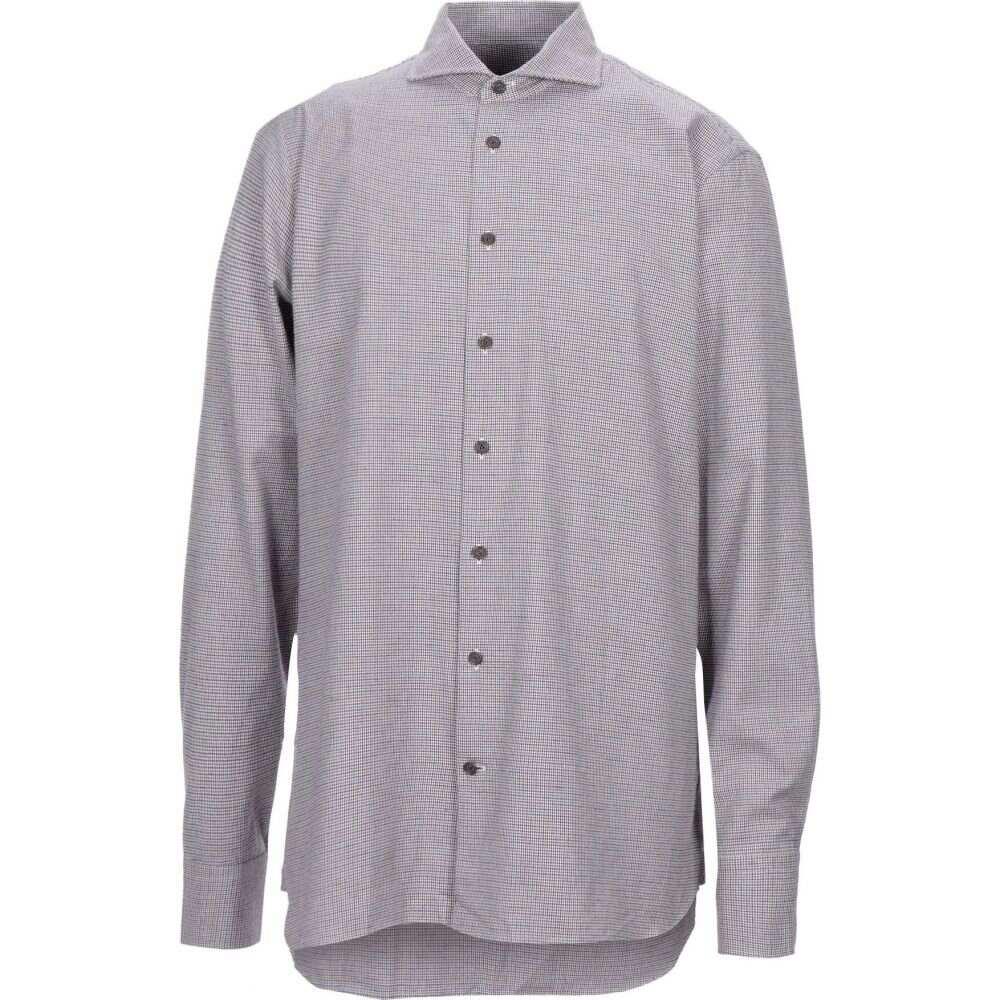 バンラック VAN LAACK メンズ シャツ トップス【patterned shirt】Blue