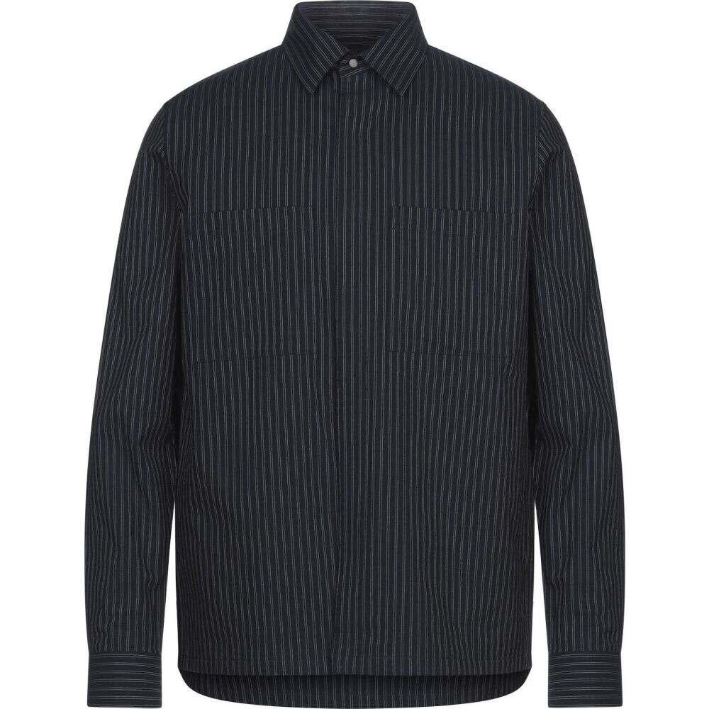 セオリー THEORY メンズ シャツ トップス【striped shirt】Dark blue