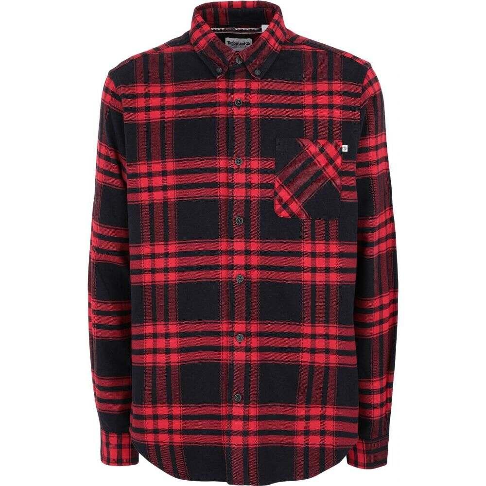 ティンバーランド TIMBERLAND メンズ シャツ トップス【checked shirt】Red
