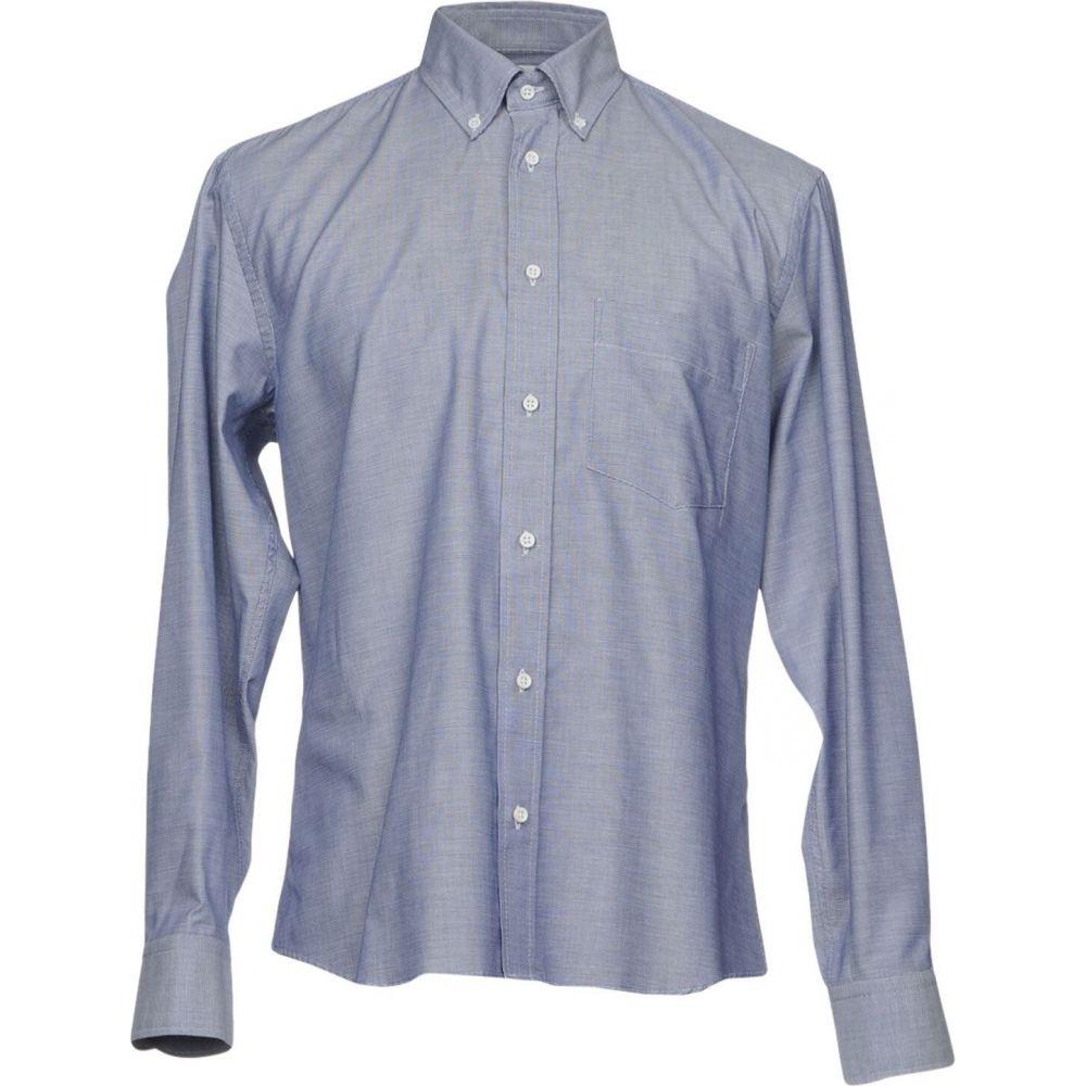 ウミット ベナン UMIT BENAN メンズ シャツ トップス【patterned shirt】Dark blue