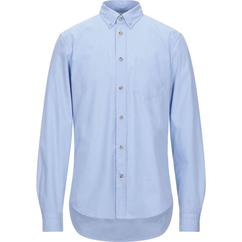 アクネ ストゥディオズ ACNE STUDIOS メンズ シャツ トップス【solid color shirt】Sky blue