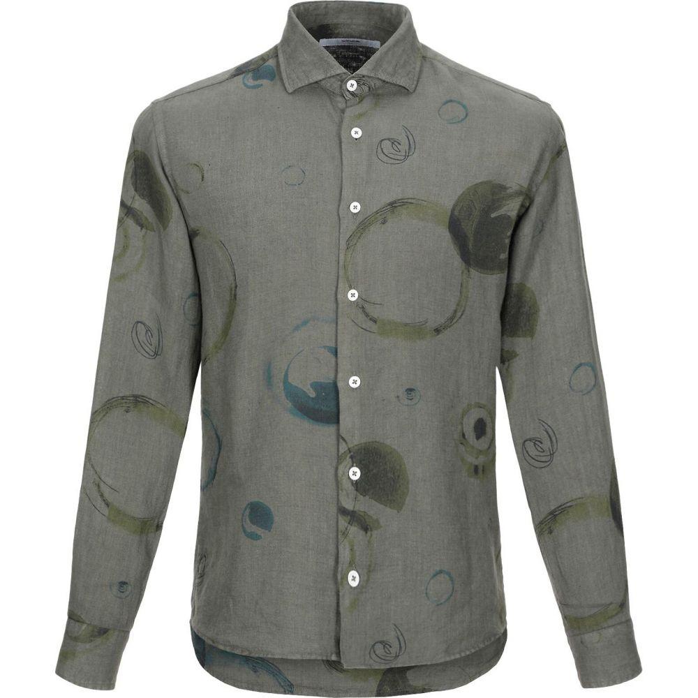 タケシ クロサワ TAKESHY KUROSAWA メンズ シャツ トップス【linen shirt】Military green