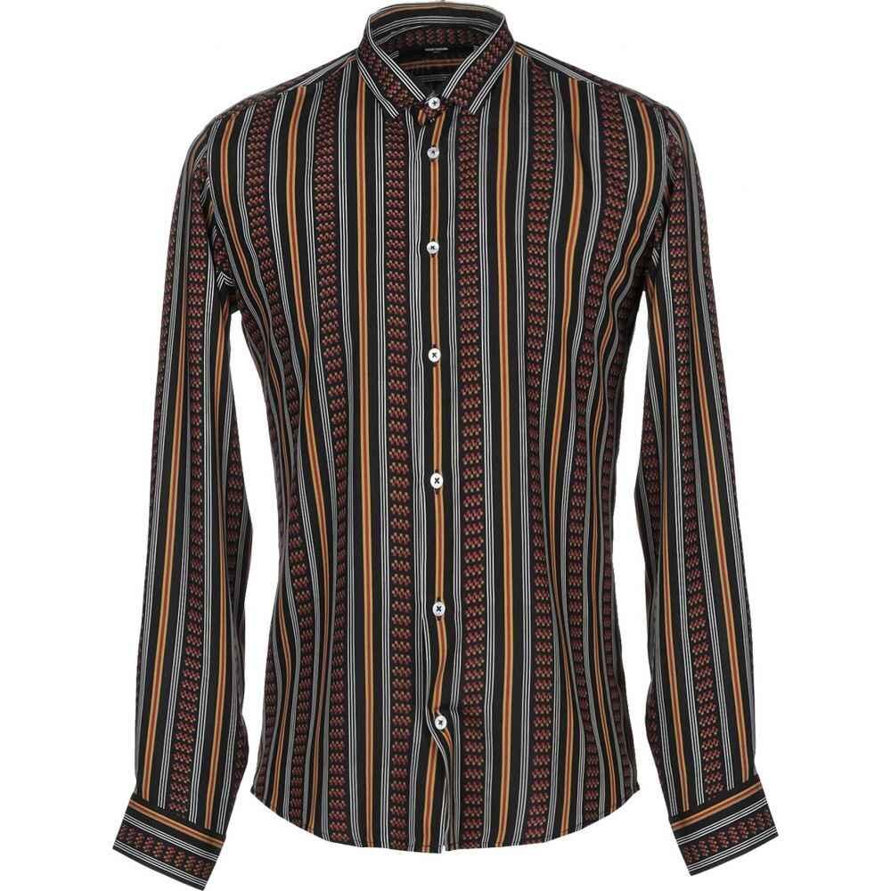タケシ クロサワ TAKESHY KUROSAWA メンズ シャツ トップス【striped shirt】Brick red