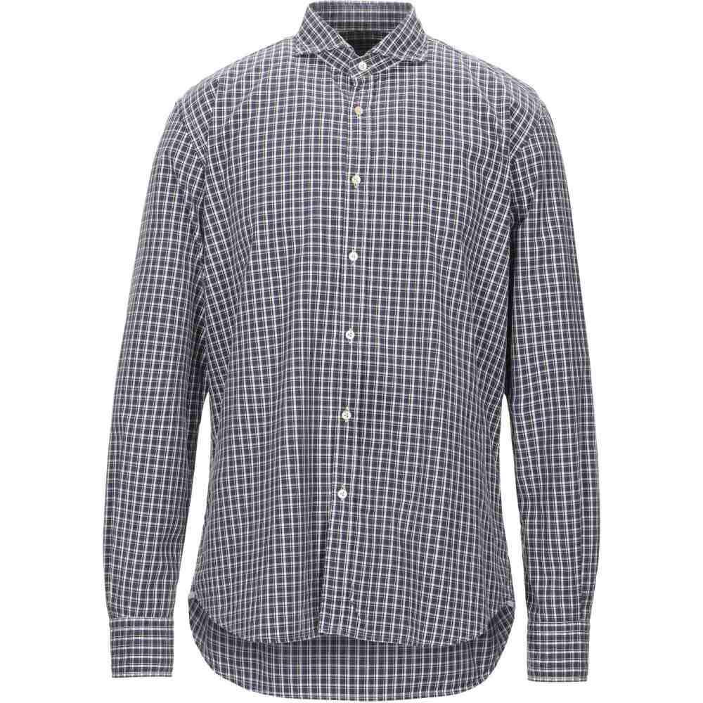 ザカス XACUS メンズ シャツ トップス【checked shirt】Dark blue