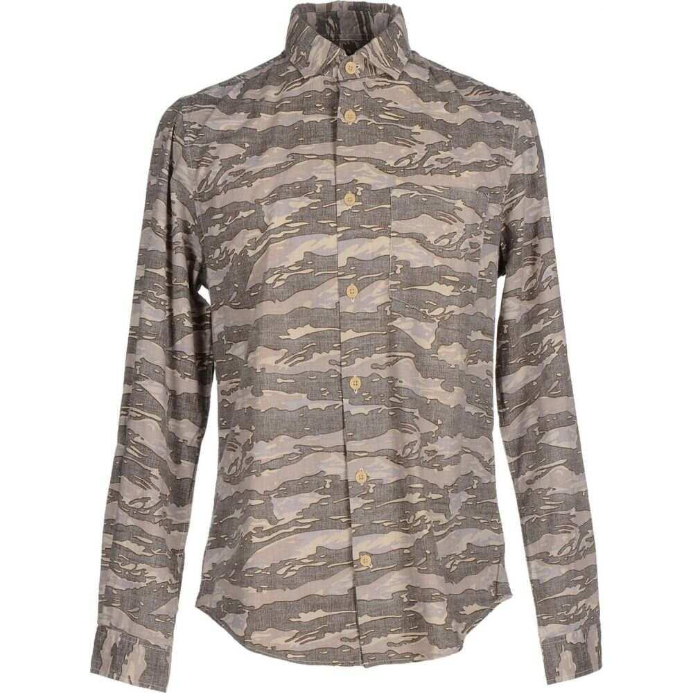 ウールリッチ WOOLRICH メンズ シャツ トップス【patterned shirt】Beige