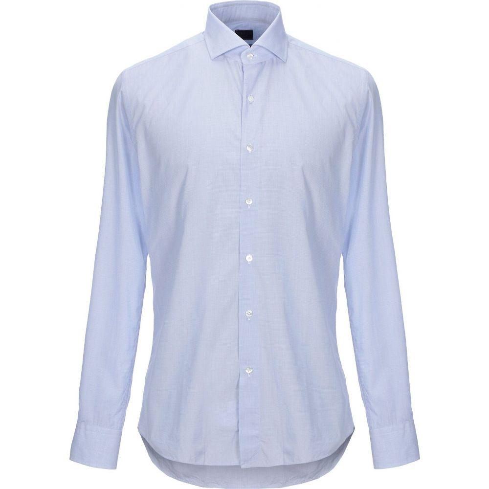 ザカス XACUS メンズ シャツ トップス【checked shirt】Sky blue