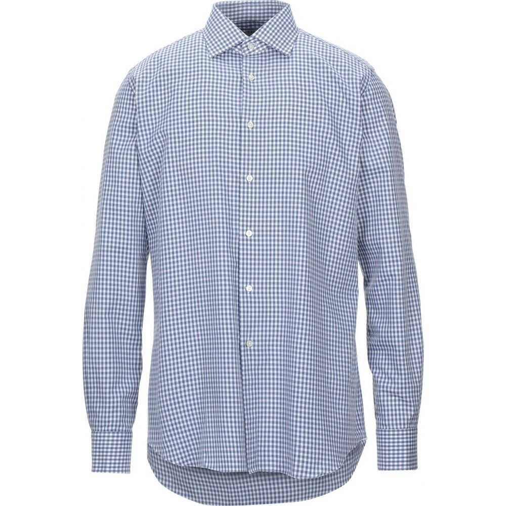 ザカス XACUS メンズ シャツ トップス【checked shirt】Slate blue