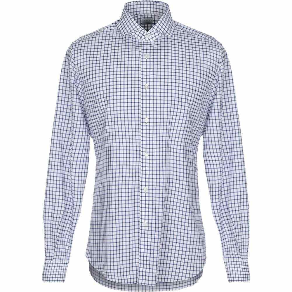 ザカス XACUS メンズ シャツ トップス【checked shirt】Blue