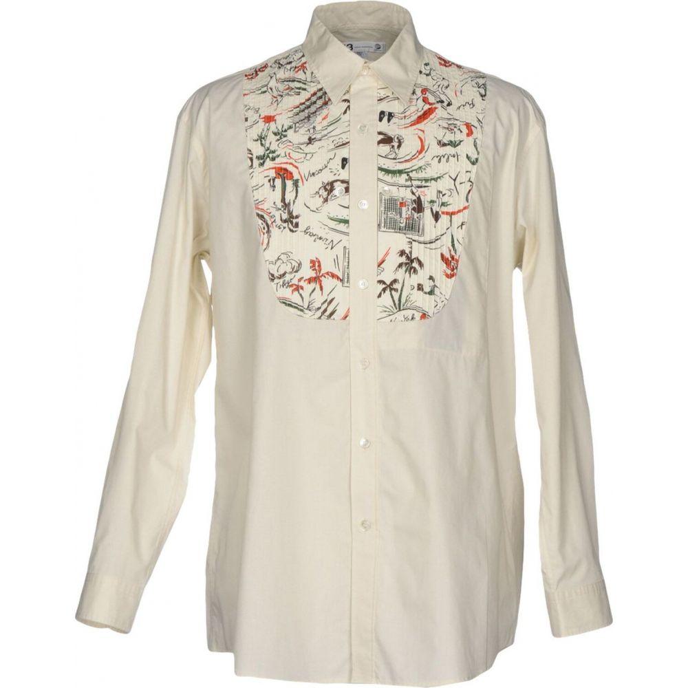 ワイスリー Y-3 メンズ シャツ トップス【patterned shirt】Ivory