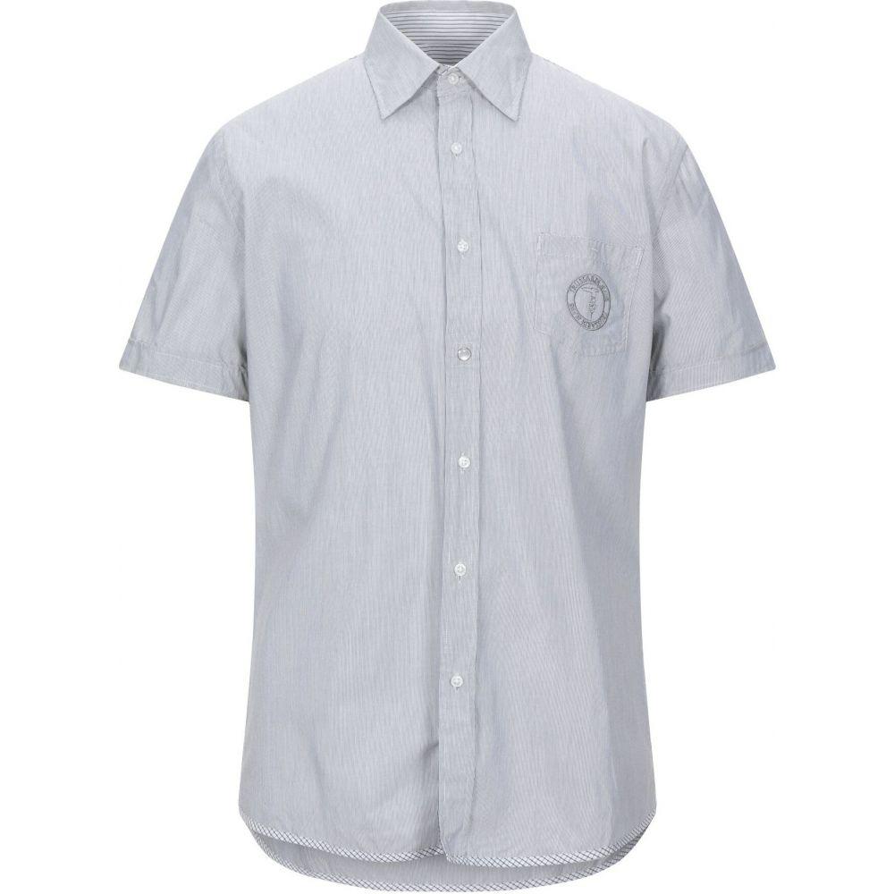 トラサルディ TRUSSARDI JEANS メンズ シャツ トップス【patterned shirt】Steel grey