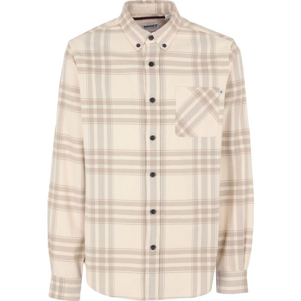 ティンバーランド TIMBERLAND メンズ シャツ トップス【checked shirt】Beige