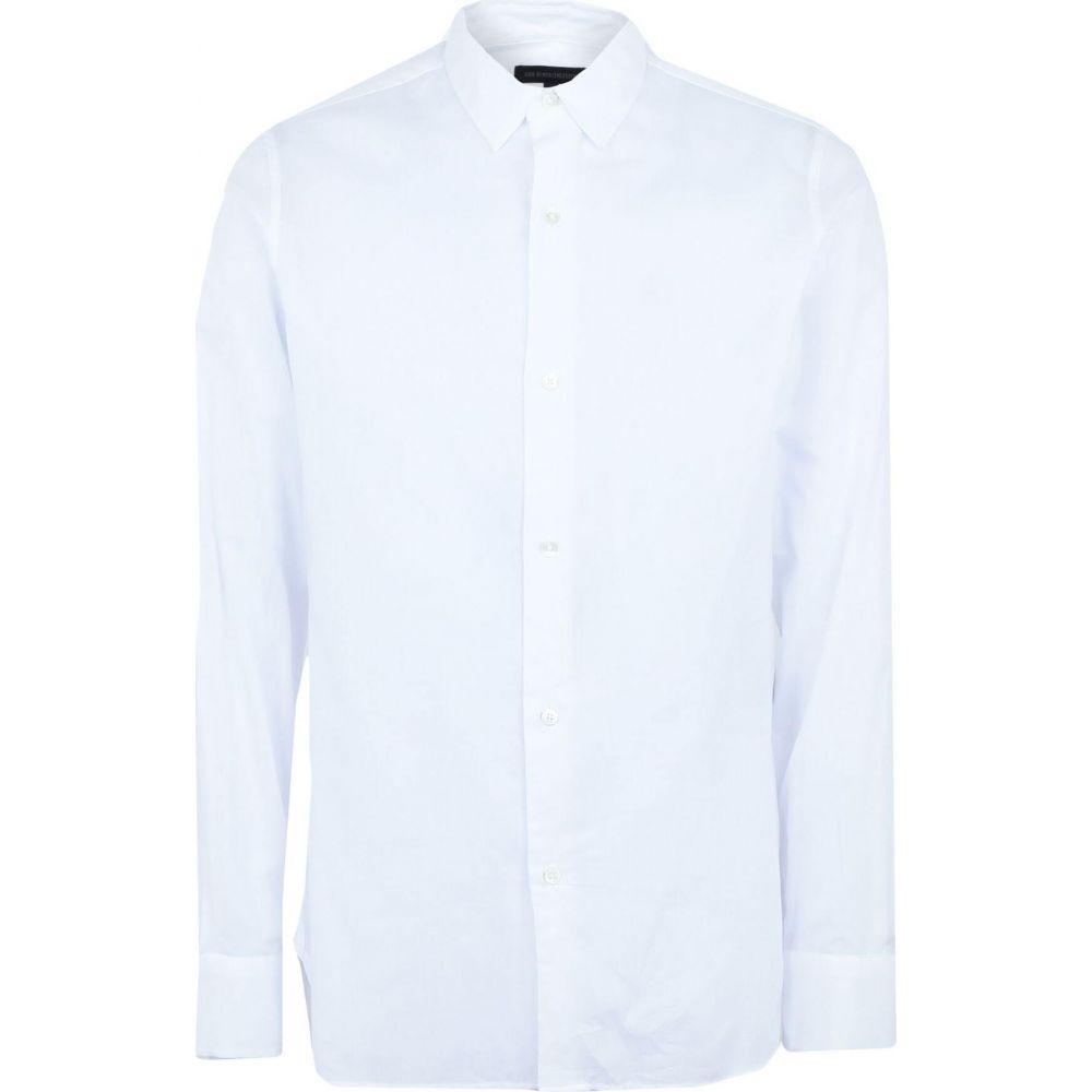 アンドゥムルメステール ANN DEMEULEMEESTER メンズ シャツ トップス【solid color shirt】White