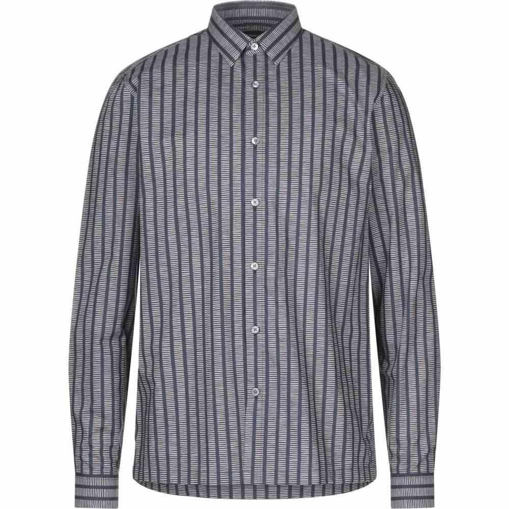 セオリー THEORY メンズ シャツ トップス【patterned shirt】Dark blue