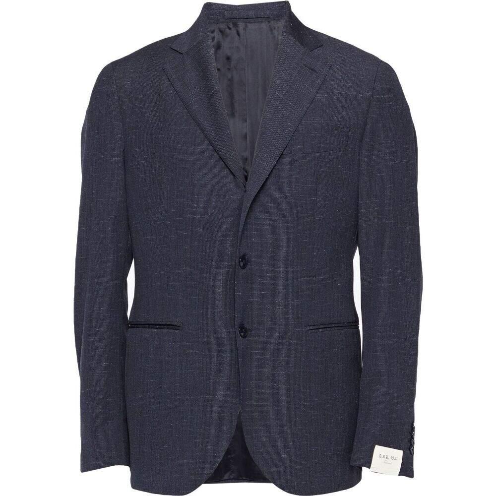 エルビーエム1911 L.B.M. 1911 メンズ スーツ・ジャケット アウター【blazer】Dark blue