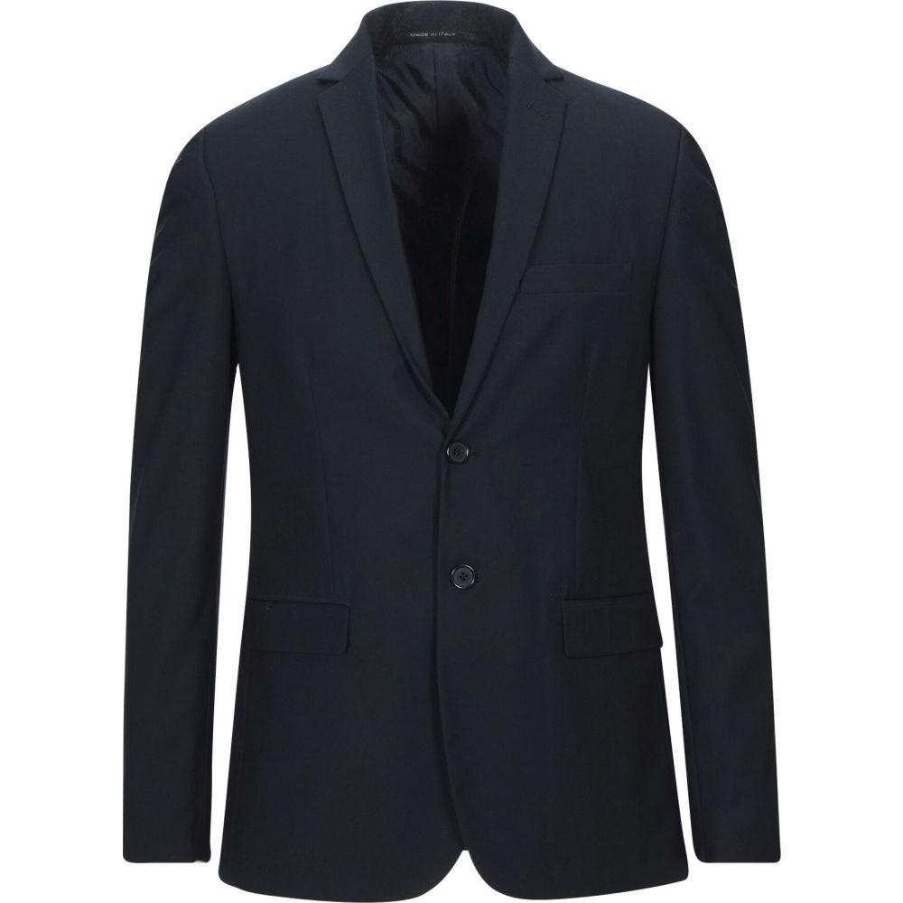 EXIBIT アウター【blazer】Dark スーツ・ジャケット blue エクシビット メンズ