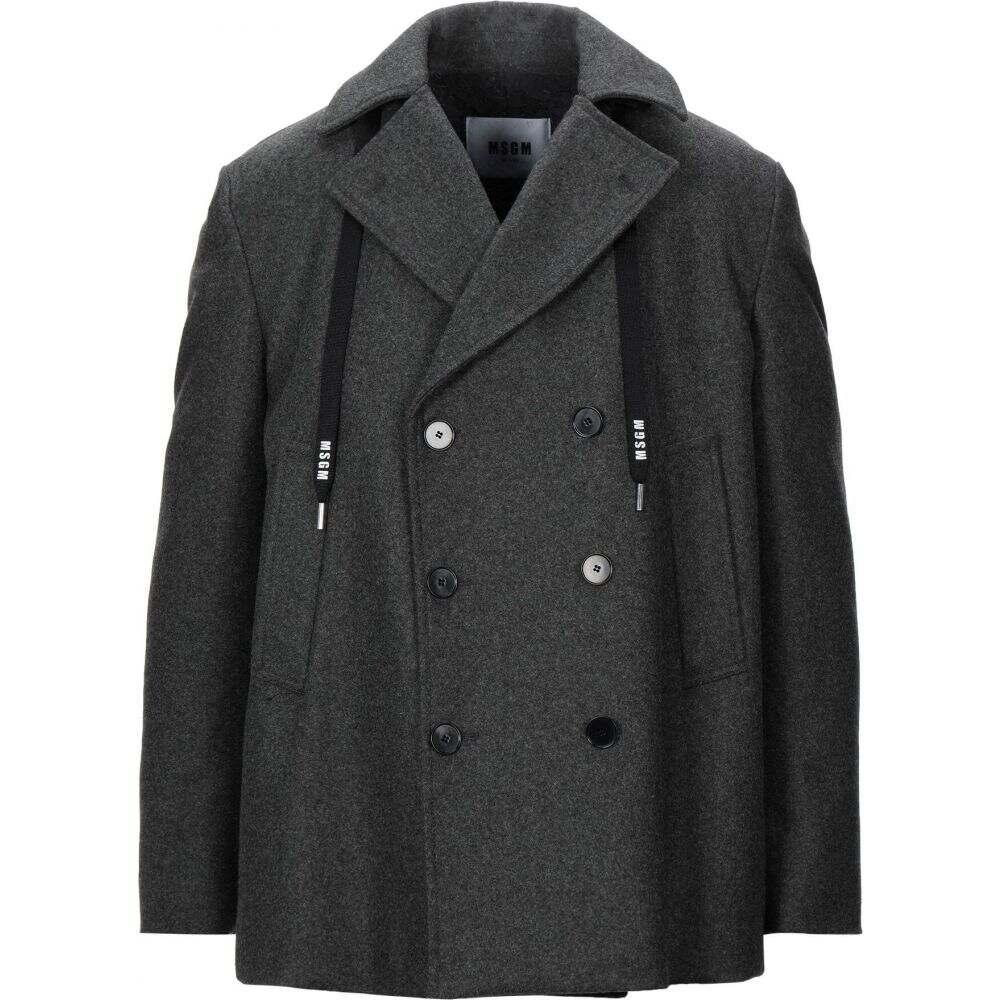 エムエスジーエム MSGM メンズ コート アウター【coat】Steel grey