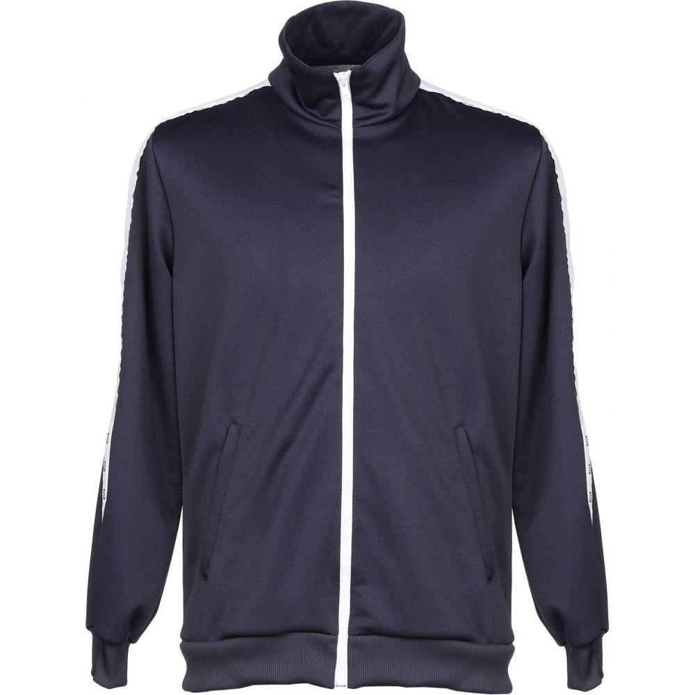 エムエスジーエム MSGM メンズ スウェット・トレーナー トップス【sweatshirt】Dark blue