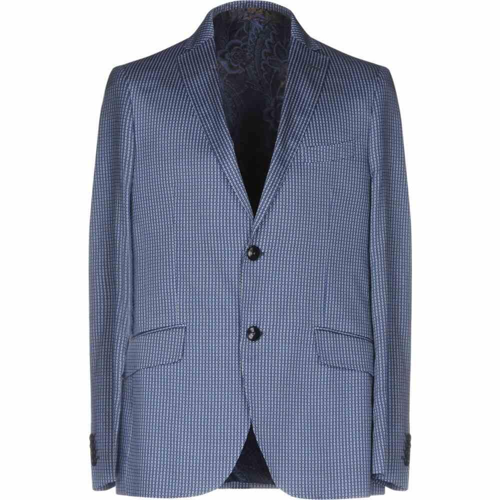 <title>エトロ メンズ アウター スーツ ジャケット Blue サイズ交換無料 ETRO blazer 卸直営</title>