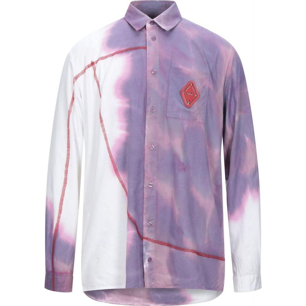 アコールドウォール A-COLD-WALL* メンズ シャツ トップス【patterned shirt】Light purple