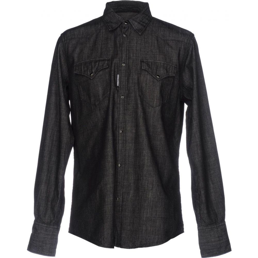 ディースクエアード DSQUARED2 メンズ シャツ デニム トップス【denim shirt】Steel grey