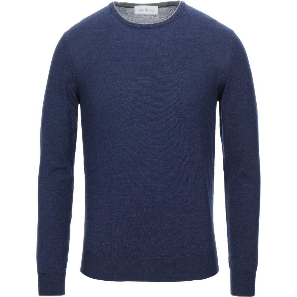 デラ チアーナ DELLA CIANA メンズ ニット・セーター トップス【sweater】Dark blue