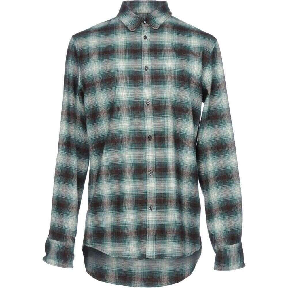 ディースクエアード DSQUARED2 メンズ シャツ トップス【checked shirt】Green