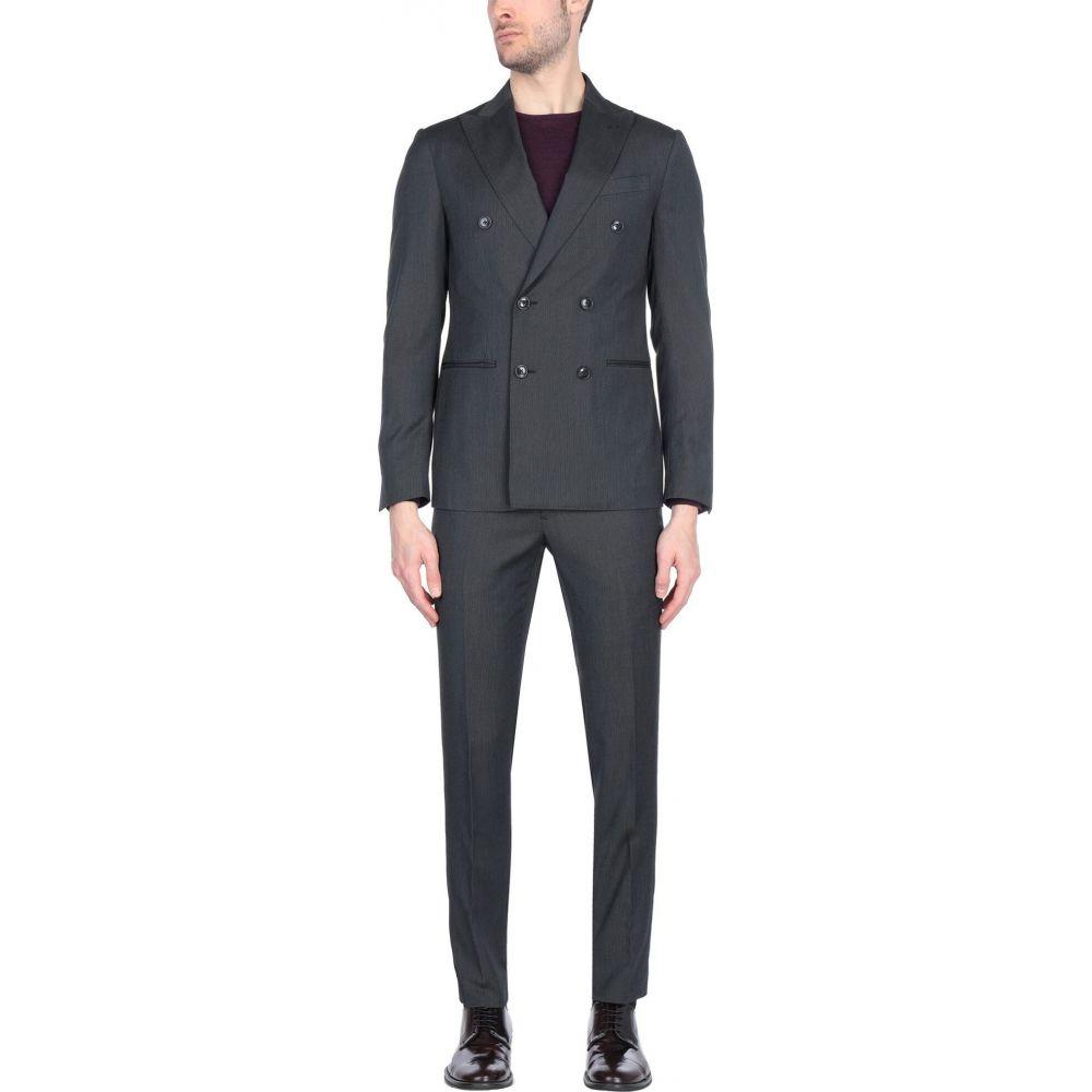 【通販激安】 ドメニコ タリエンテ DOMENICO TAGLIENTE メンズ スーツ・ジャケット アウター【Suit】Steel grey, 鏡 オーダーミラー専門店 be5218ce