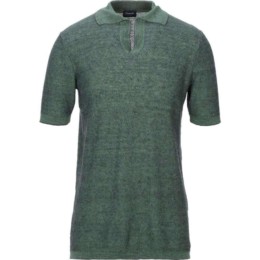 ドルモア DRUMOHR メンズ ポロシャツ トップス【polo shirt】Green