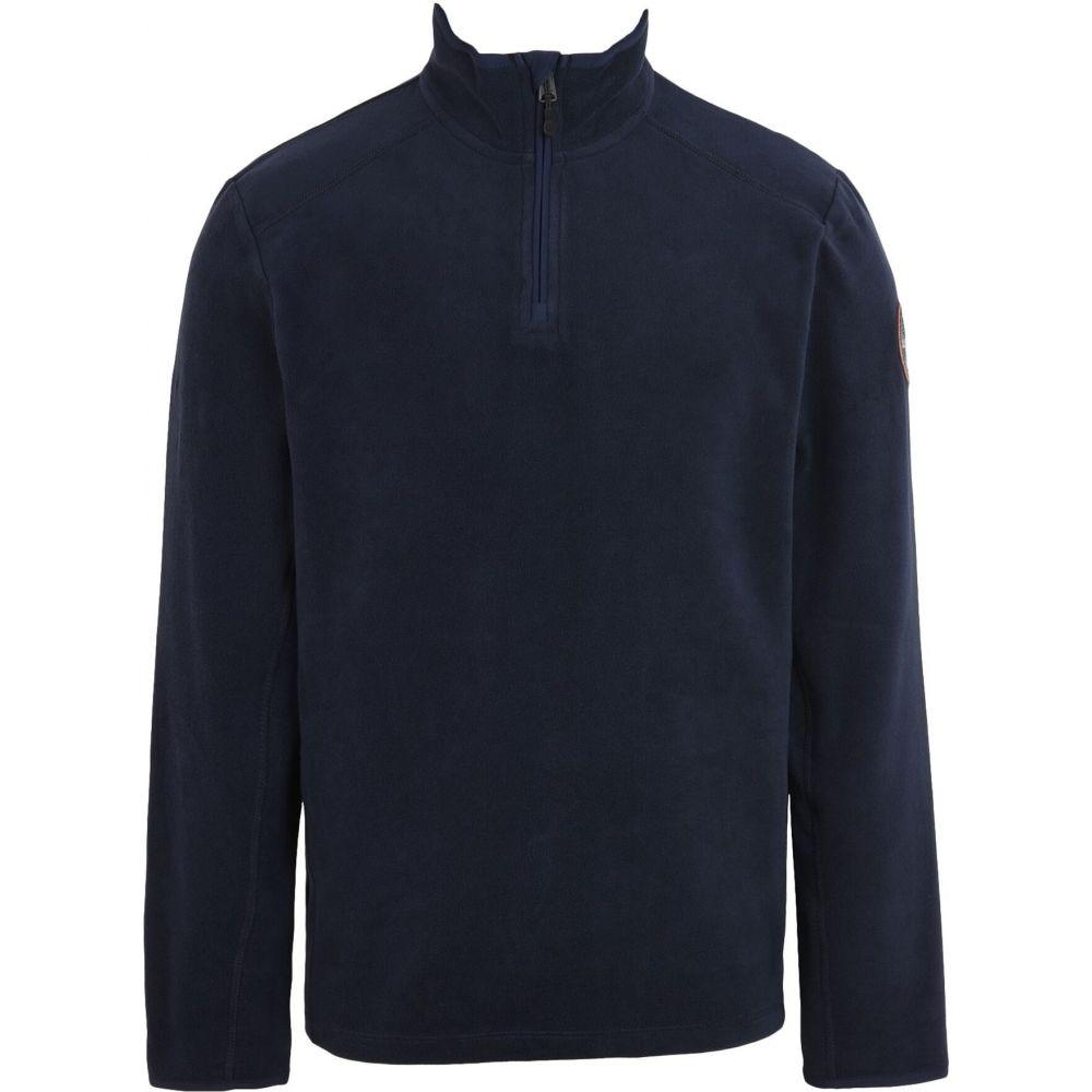 海外輸入 ナパピリ メンズ トップス スウェット トレーナー Dark NAPAPIJRI サイズ交換無料 SALENEW大人気! blue sweatshirt