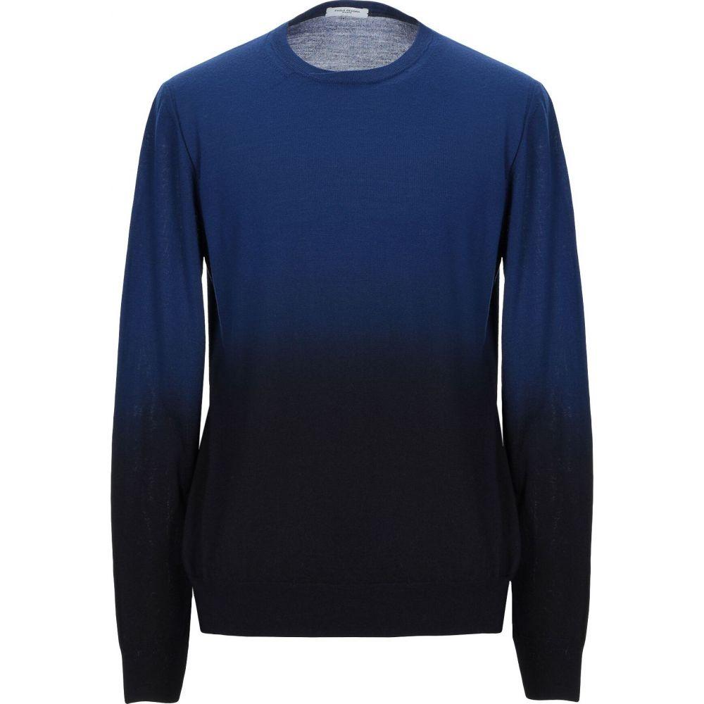 パオロ ペコラ メンズ トップス ニット セーター ショッピング 高品質 blue PECORA Bright PAOLO sweater サイズ交換無料
