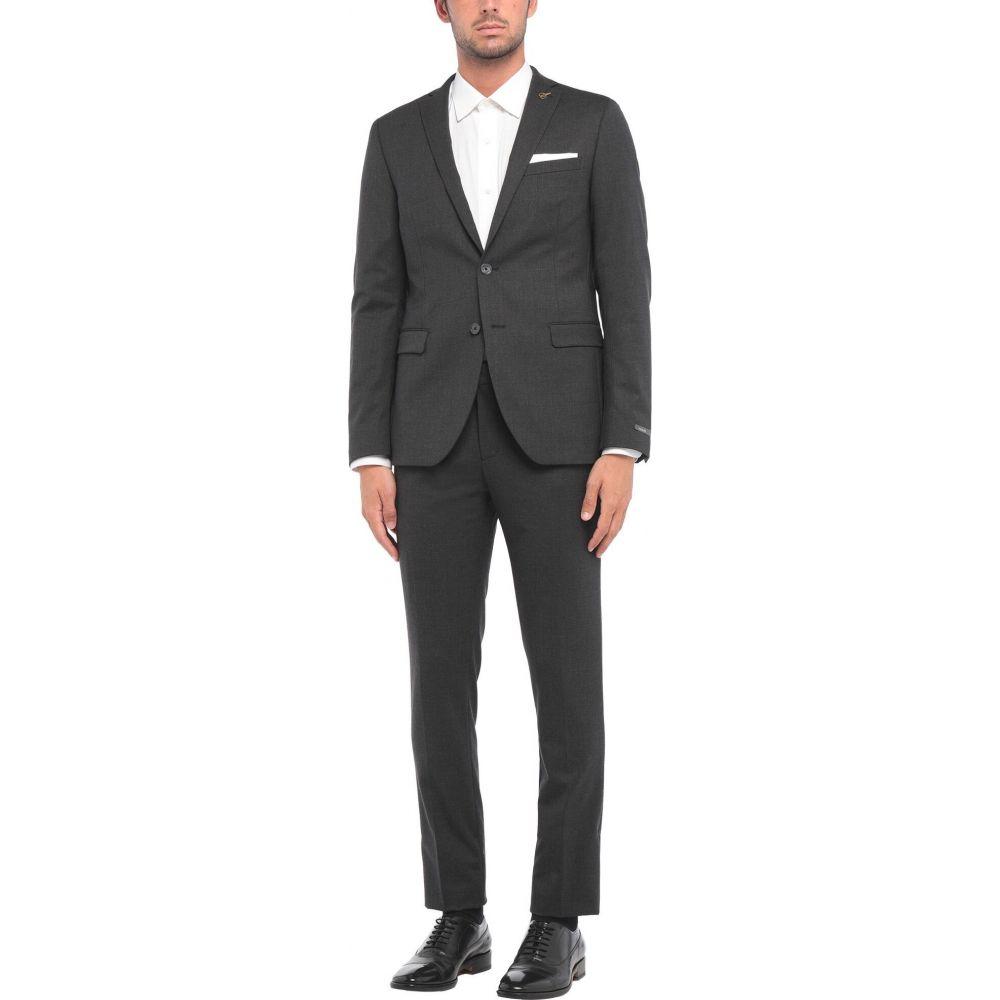 最新作の パオローニ PAOLONI メンズ スーツ・ジャケット アウター【Suit】Lead, 若美町 285c7611