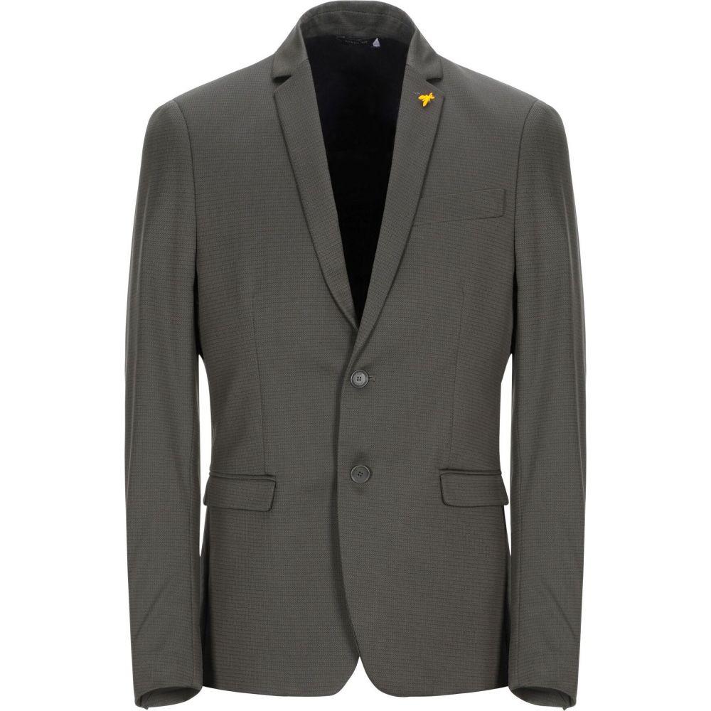 お歳暮 パトリツィア ペペ PATRIZIA PEPE メンズ スーツ・ジャケット アウター【blazer】Military green, 三日月 a1a4e52f