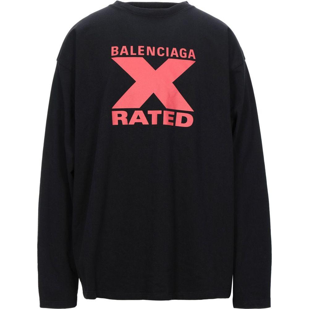 最安値級価格 バレンシアガ BALENCIAGA トップス【t-shirt】Black メンズ Tシャツ トップス【t-shirt バレンシアガ BALENCIAGA】Black, ホスピマート:5247d298 --- experiencesar.com.ar
