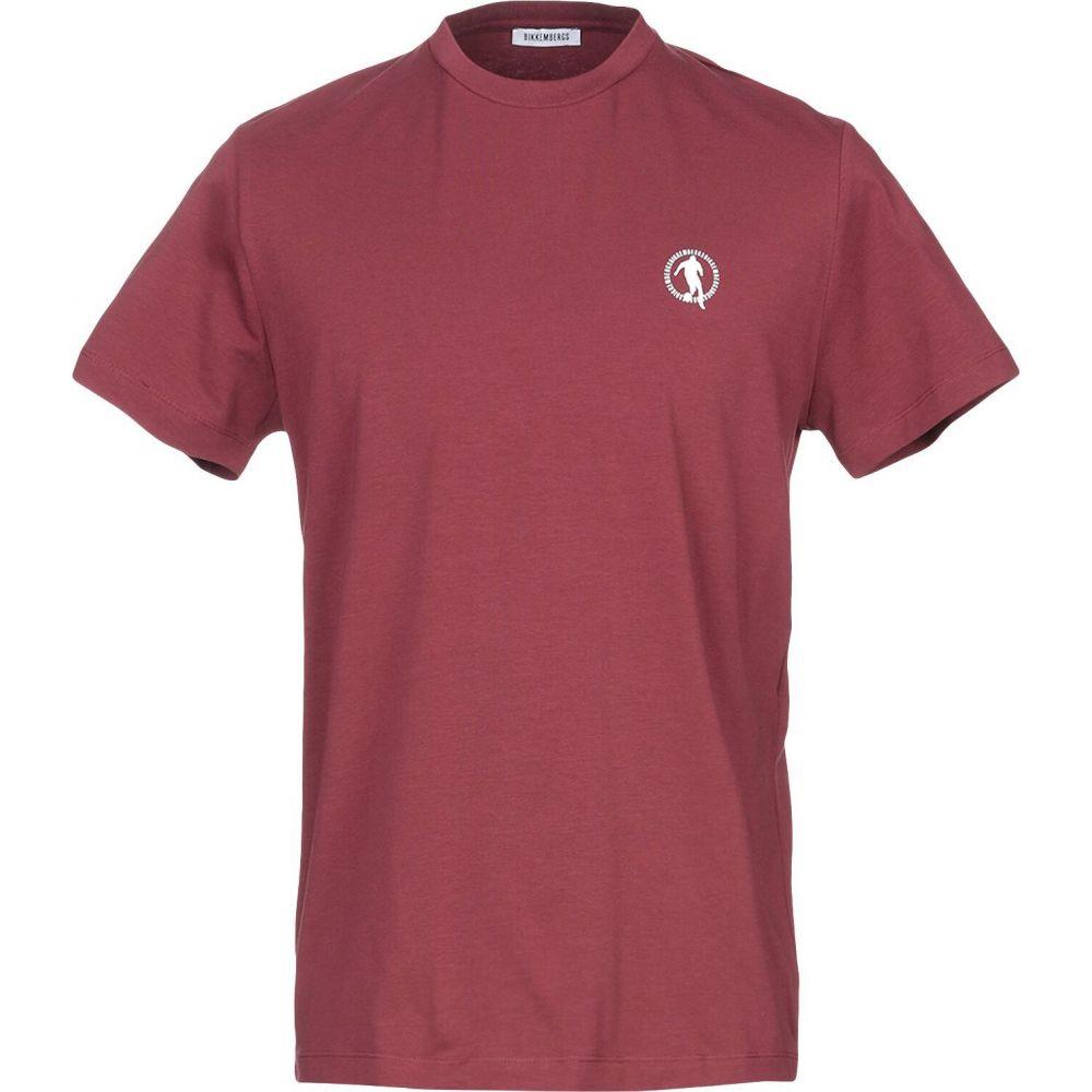 ビッケンバーグ BIKKEMBERGS メンズ Tシャツ トップス【t-shirt】Deep purple