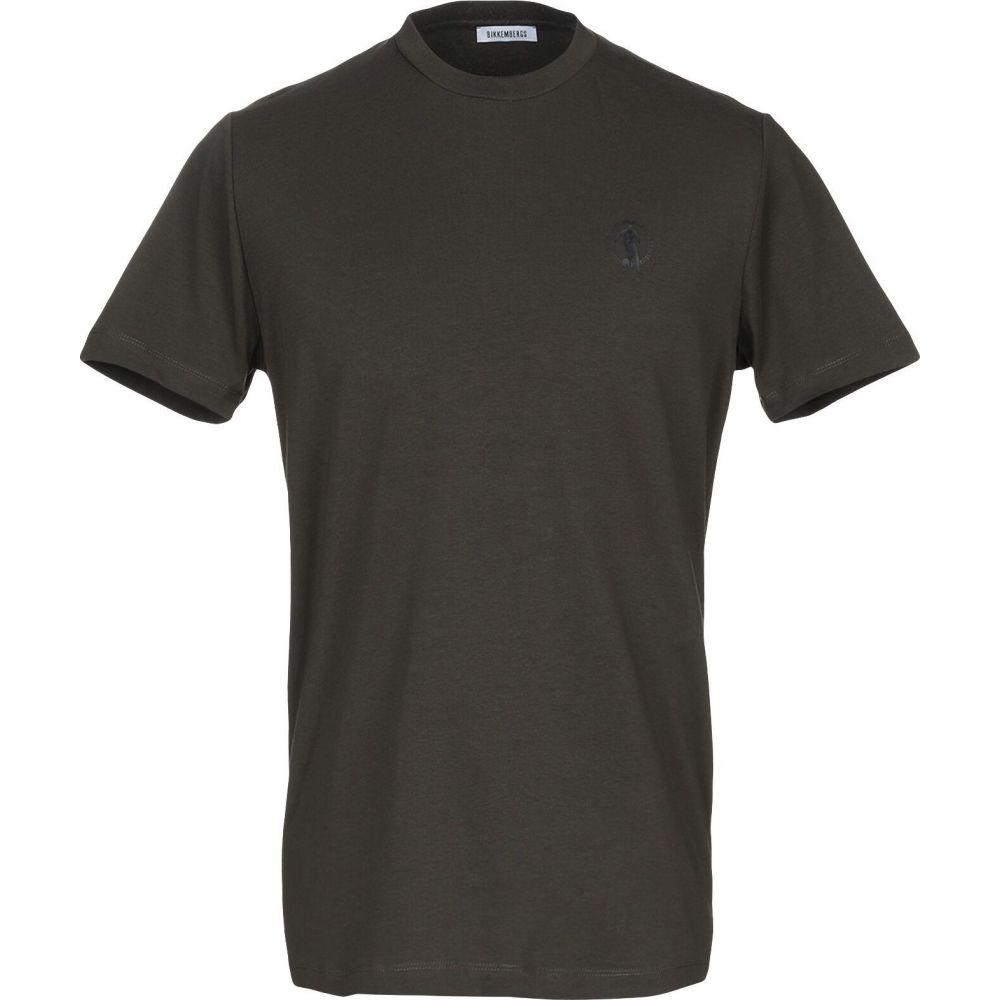 ビッケンバーグ BIKKEMBERGS メンズ Tシャツ トップス【t-shirt】Military green