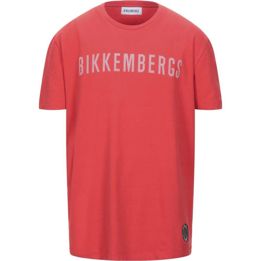 ビッケンバーグ BIKKEMBERGS メンズ Tシャツ トップス【t-shirt】Red