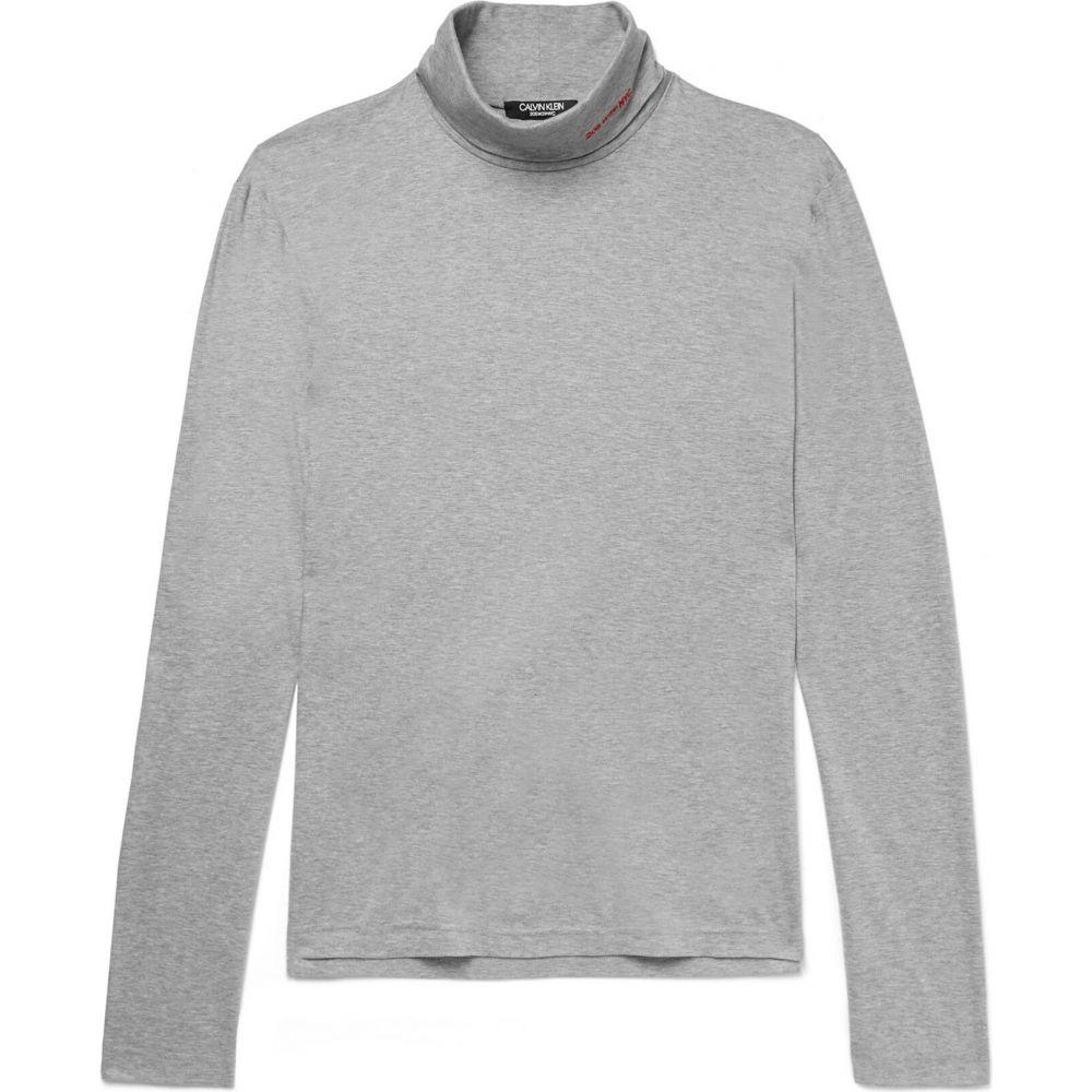 カルバンクライン CALVIN KLEIN 205W39NYC メンズ Tシャツ トップス【t-shirt】Light grey