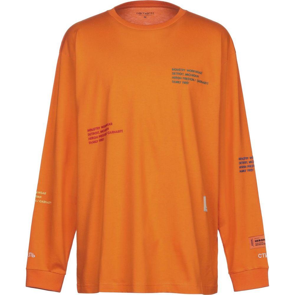 カーハート CARHARTT メンズ Tシャツ トップス【t-shirt】Orange